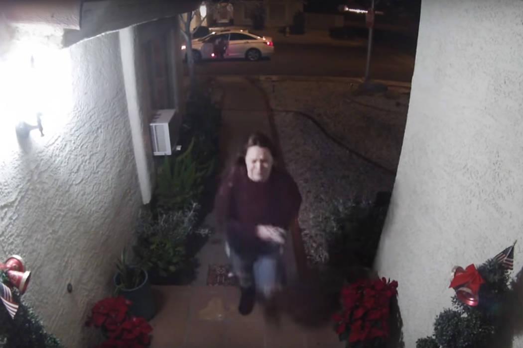 El Departamento de Policía Metropolitana de Las Vegas publicó un video de vigilancia de una c ...