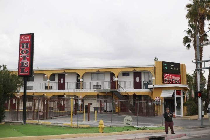 El Hotel Casa Blanca ubicado en en 2401 N. Las Vegas Blvd. en North Las Vegas el lunes, 23 de d ...