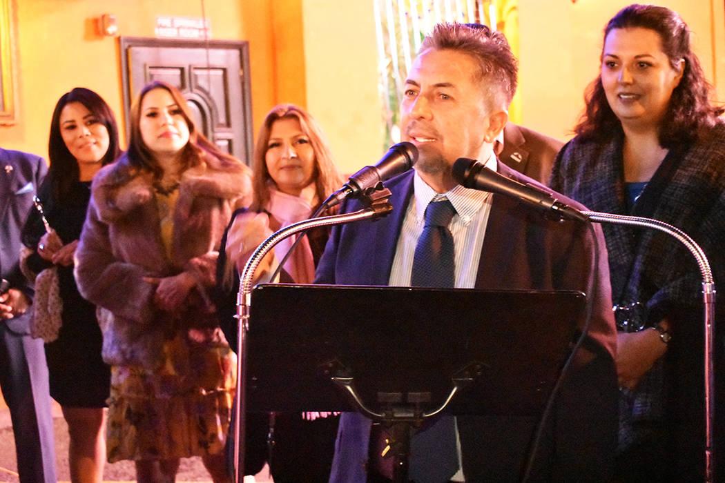 Javier Barajas ha sido un inmigrante exitoso en el sur de Nevada. Lunes 6 de enero de 2020 en l ...