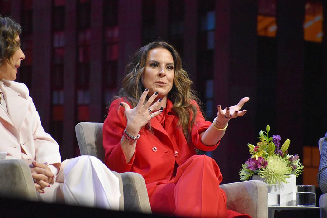 Kate del Castillo, quien personifica a La Reina del Sur, una producción de la empresa NBCUnive ...