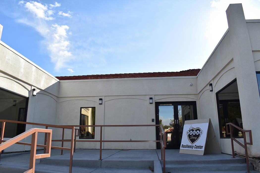"""La nueva oficina de 4,700 pies cuadrados de """"Vegas Strong Resiliency Center"""" adyacente al d ..."""