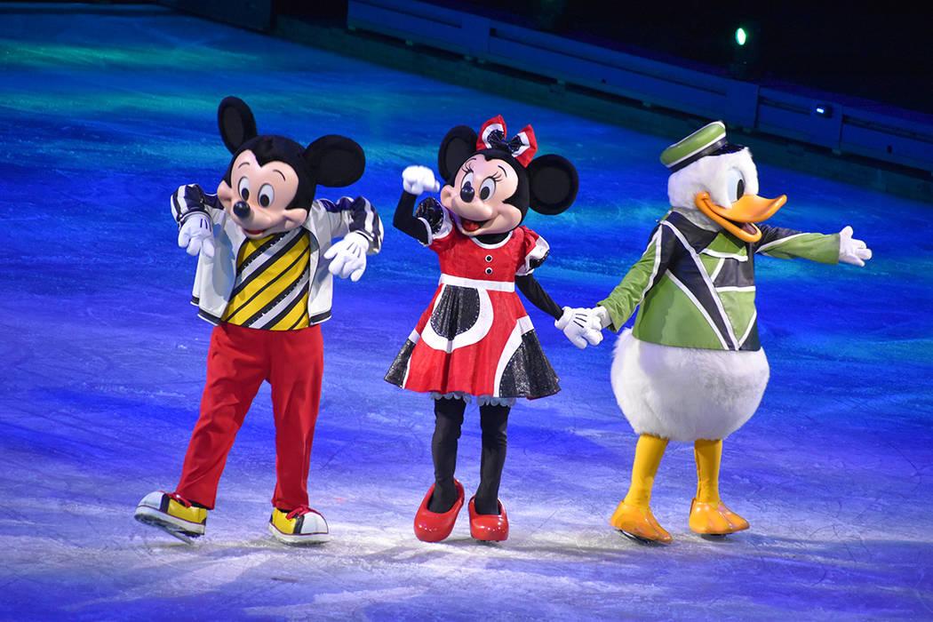 Una inolvidable experiencia en Las Vegas trajo Disney On Ice presents, con la fabulosa producci ...