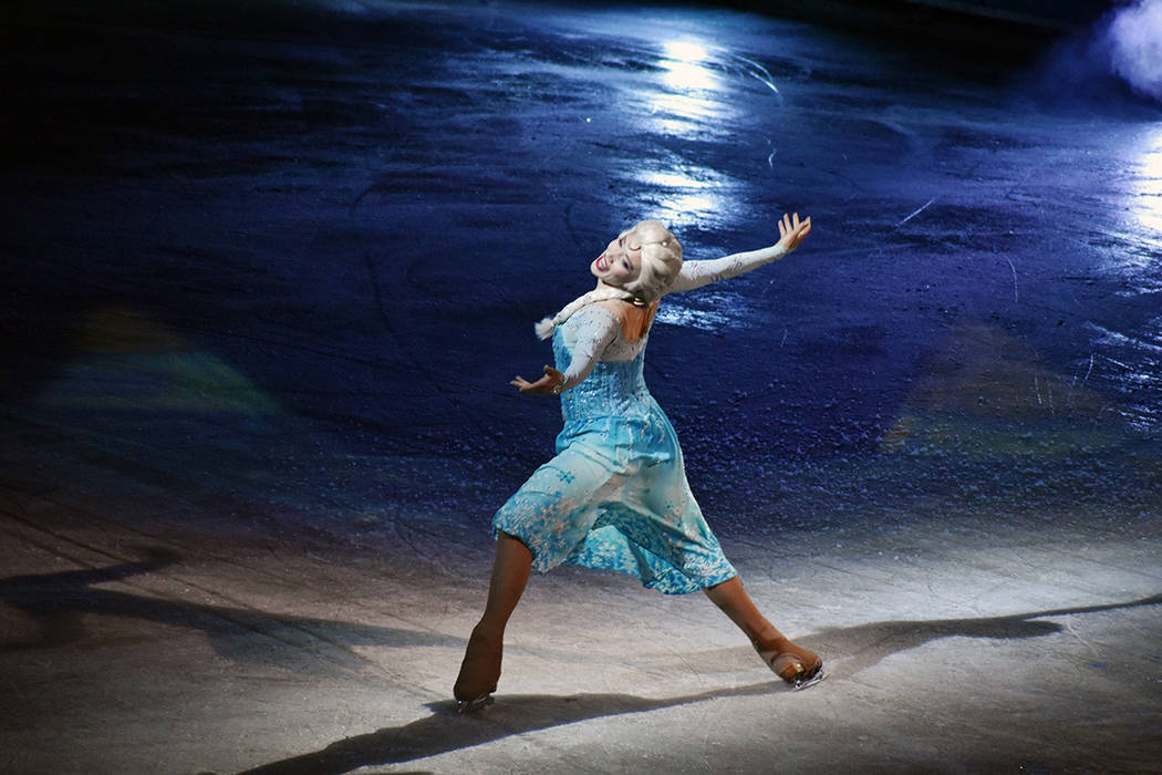 Una inolvidable experiencia en Las Vegas trajo Disney On Ice presents, con la fabulosa producci ...