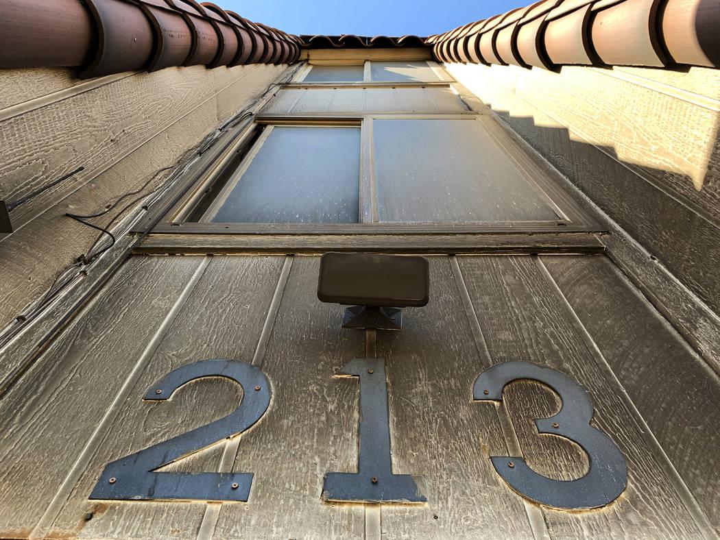 Los apartamentos del Motel Alpine fotografiados el jueves, 9 de enero de 2020, en Las Vegas. (D ...