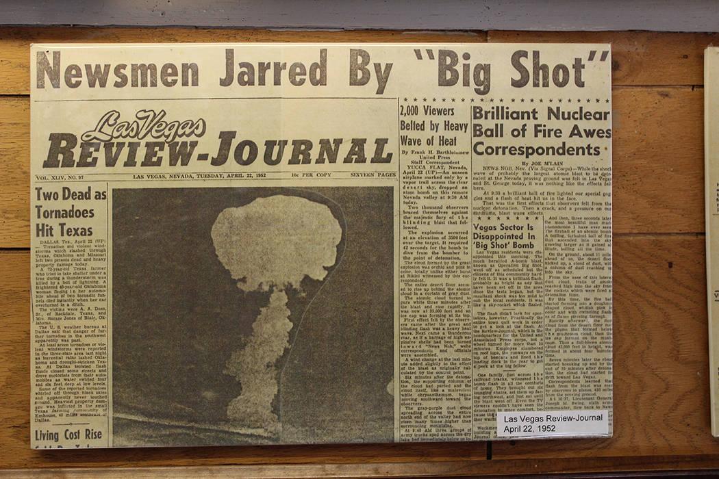 Un diario de 1952 se incluye en las salas del museo. Viernes 10 de enero de 2020 en el Museo Co ...
