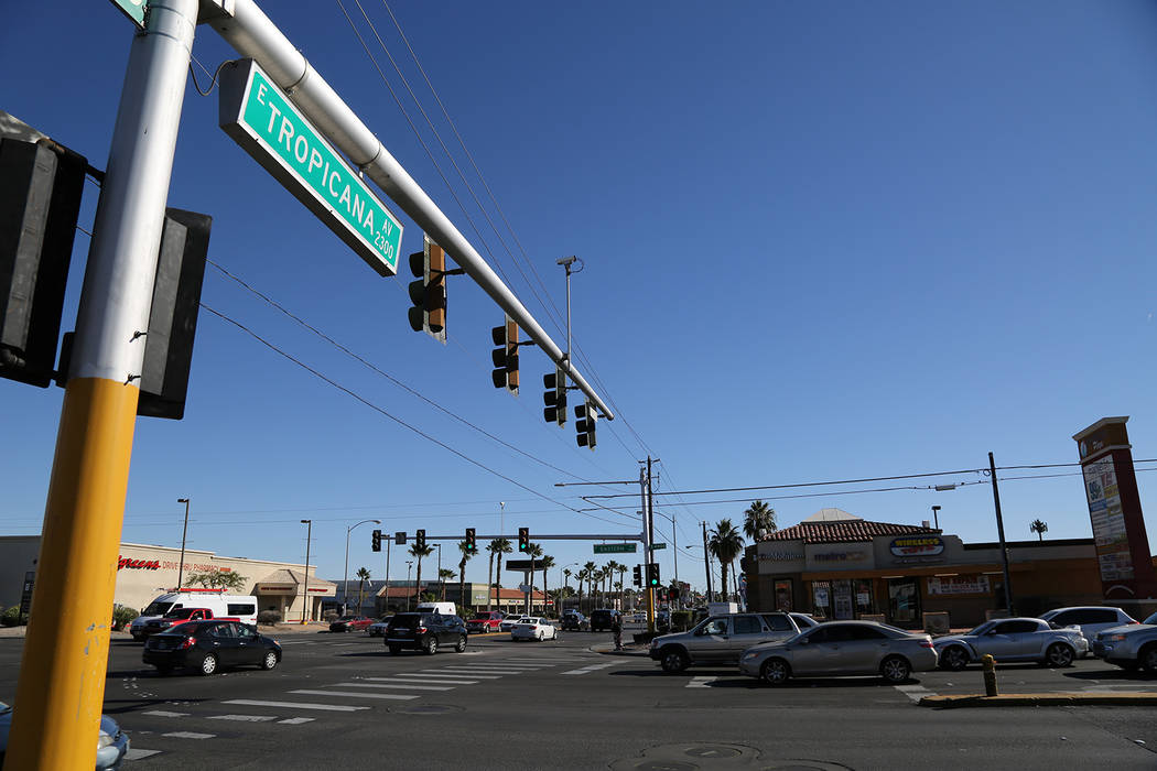 The $10.5 million Tropicana Avenue overlay project will upgrade a vital, aging roadway, key to ...