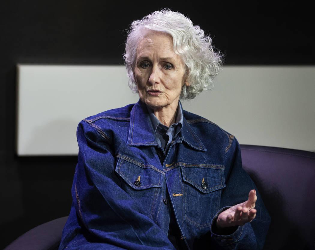 Margaret Rudin, condenada por el asesinato de su esposo en 1994, da una entrevista el viernes, ...