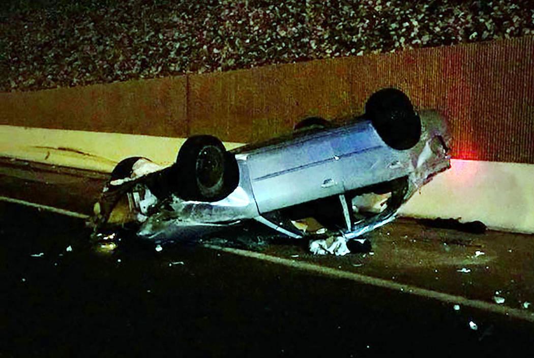Una joven de 17 años de edad murió a causa de un accidente en el 215 Beltway de Henderson el ...