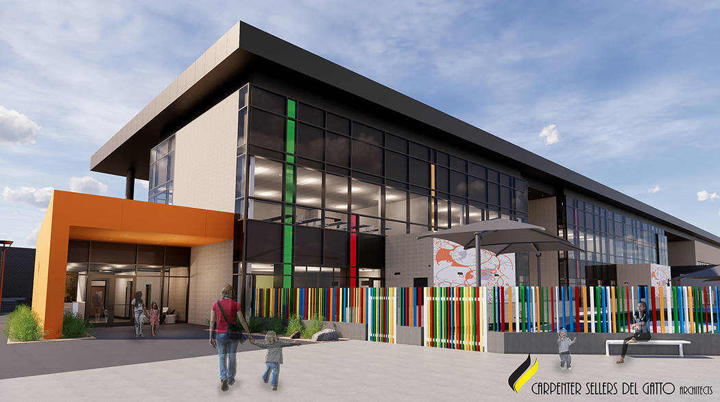 El nuevo edificio de 65,000 pies cuadrados se llamará Glenn y Ande Christenson School of Educa ...