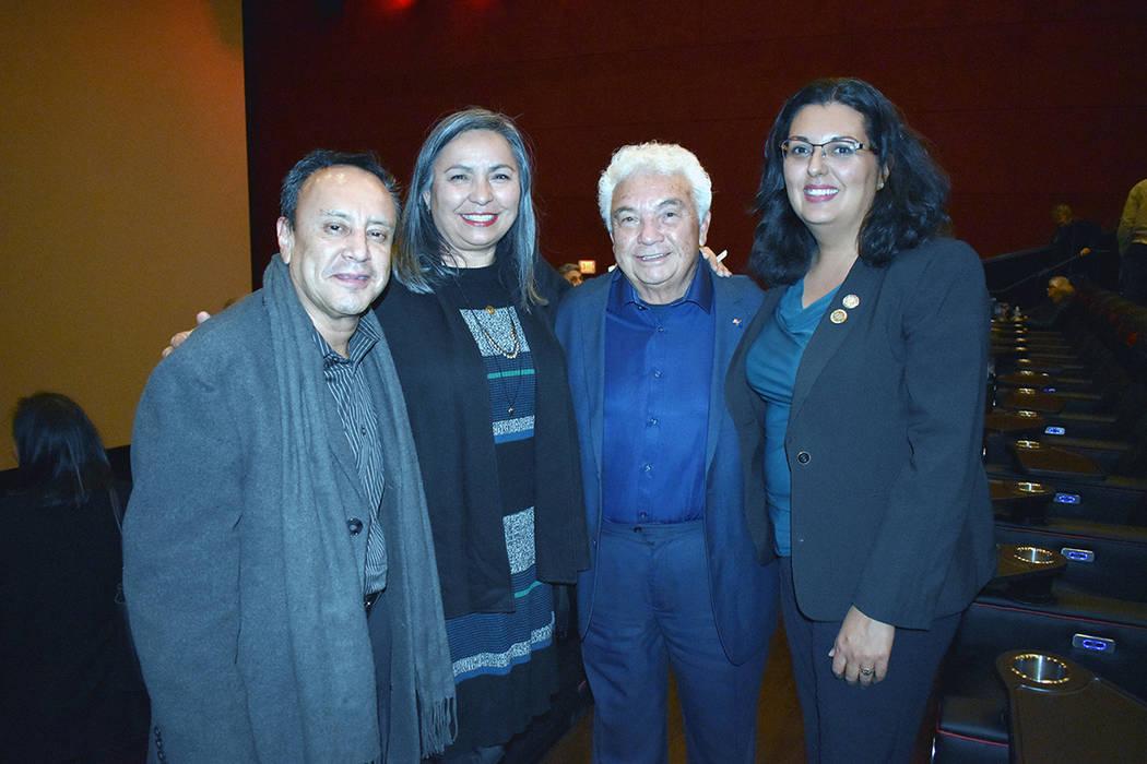 Entre las personalidades invitadas destacaron: Olivia Díaz, concejal por el Distrito 3 de Las ...