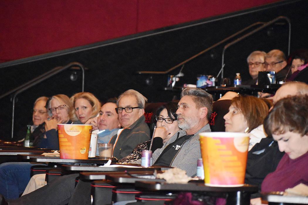"""La interacción del público asistente a la proyección de la película """"Leona"""" fue notable ..."""