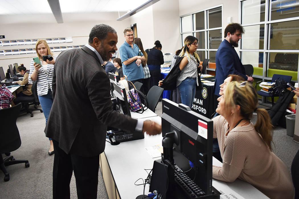 La oficina del congresista Steven Horsford llevó a cabo una feria de empleo para el Censo 2020 ...