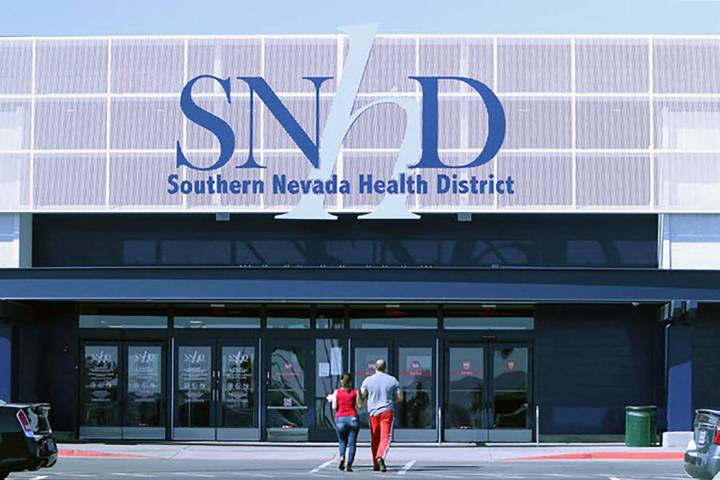 Oficinas del Distrito de Salud del Sur de Nevada. (Las Vegas Review-Journal)