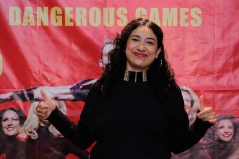 México, 23 Ene 2020 (Notimex-Romina Solis).- La artista callejera, Flor Amargo, quien particip ...