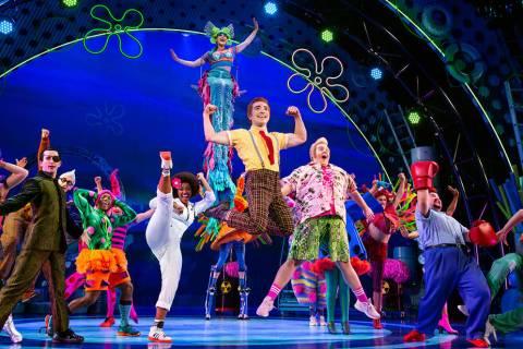 """""""The SpongeBob Musical"""" es un aclamado espectáculo que da vida a una de las más queridas ..."""