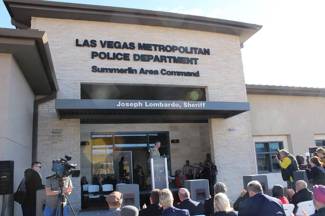En Summerlin residen 100 mil personas por lo que era necesaria una nueva sub estación. Miérco ...