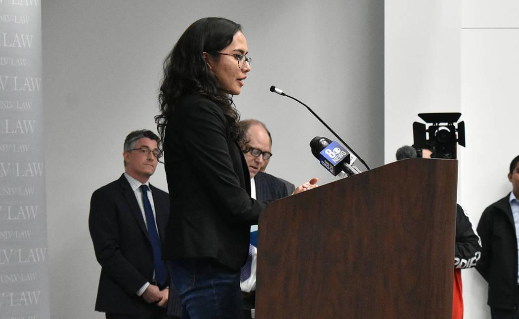 Mariana Rodríguez opinó que los programas de servicios legales son necesarios para la comunid ...