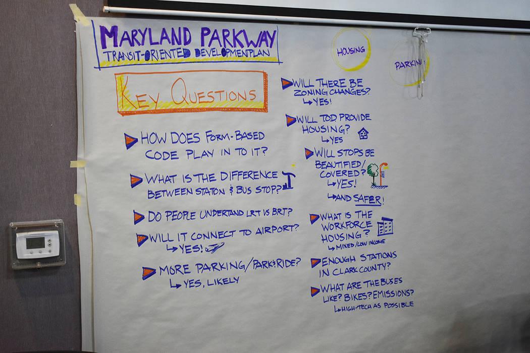 Las personas asistentes tuvieron la oportunidad de opinar y marcar en bosquejos los puntos dond ...