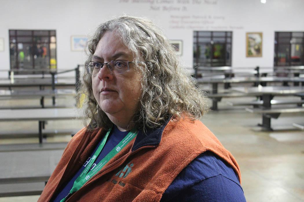 Michelle Fuller, gerente del Departamento de Servicios Sociales del Condado Clark, fue la encar ...