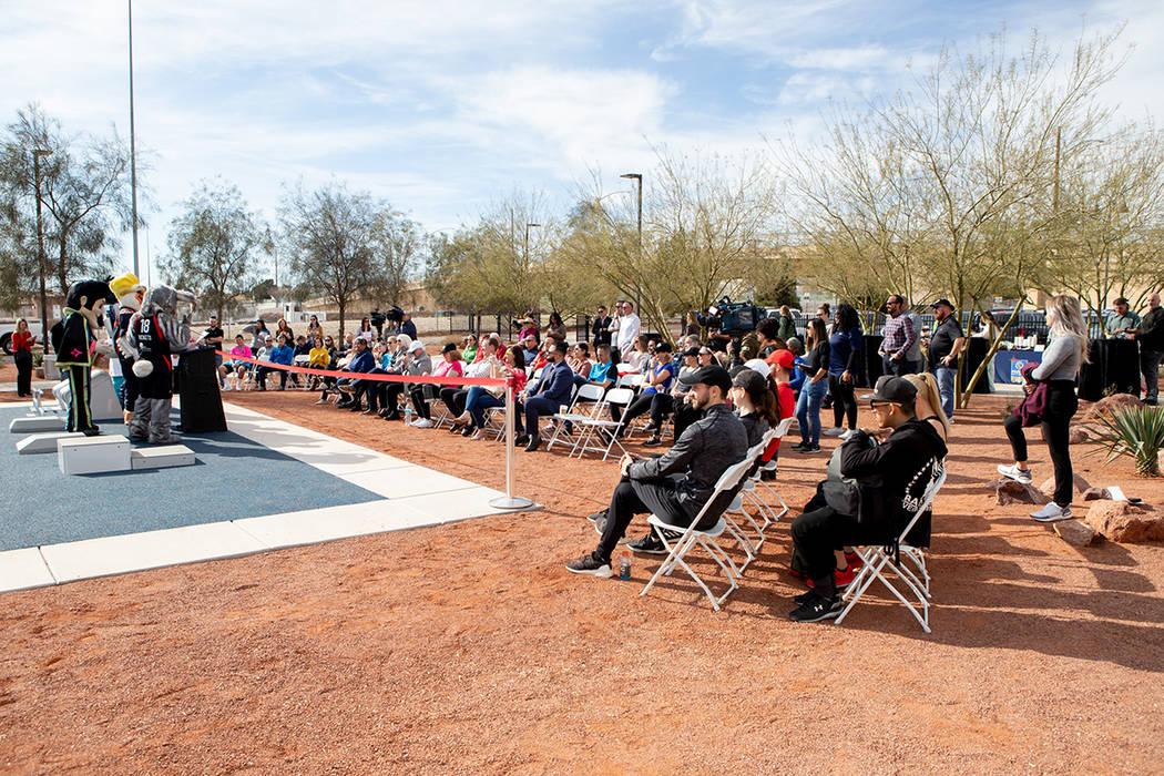 Las Vegas Fitness Court® es parte del Programa Ciudad Modelo de la Campaña Nacional de Fitnes ...