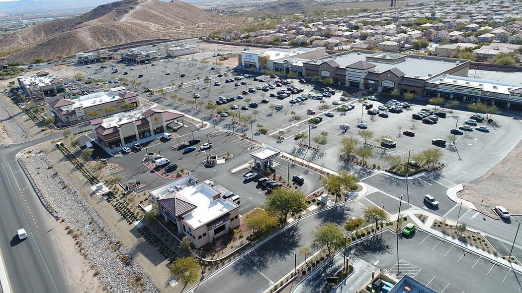 Comienza la fase final de construcción en Mountain's Edge Marketplace. Foto cortesía.