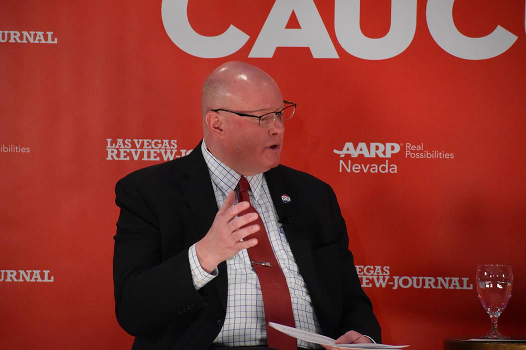 El columnista político del RJ Steve Sebeilius, moderó un panel de discusión que tuvo como ob ...