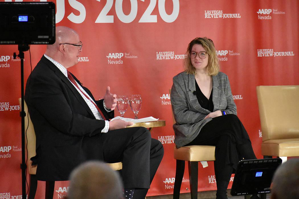 AARP Nevada & Las Vegas Review Journal Presentaron: Nevada Caucus 2020. Lunes 10 de febrero de ...