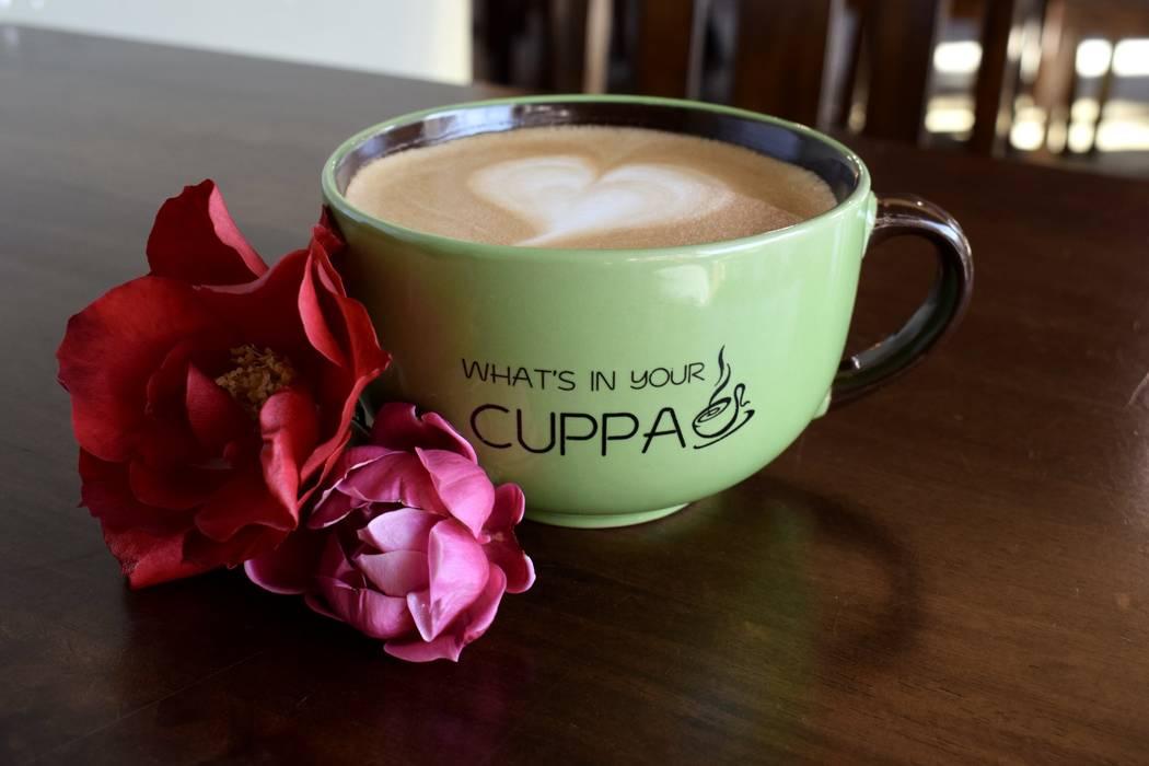 Bouquet Latte en The Cuppa Coffee Bar (The Cuppa Coffee Bar).