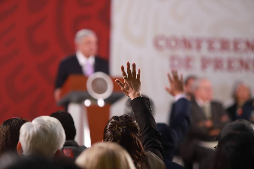 ARCHIVO. Ciudad de México, 18 Feb 2020 (Notimex-Gustavo Durán).- El Presidente Andrés Manuel ...