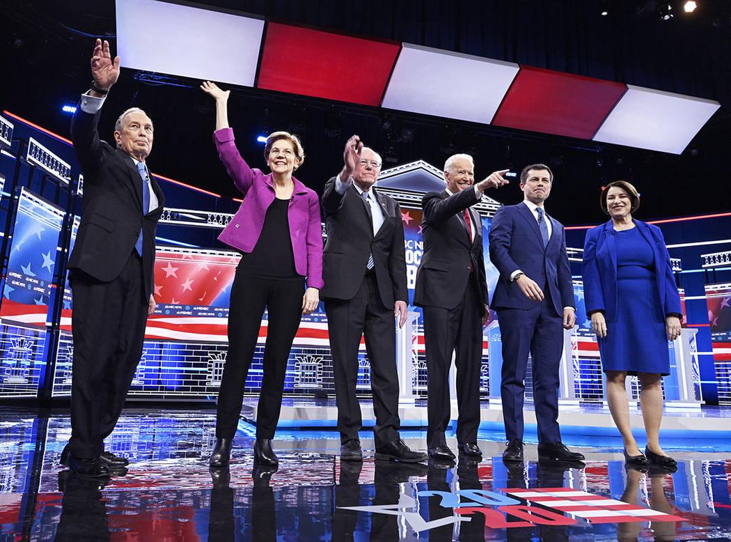 Seis aspirantes a la candidatura presidencial demócrata expusieron sus ideas antes del Caucus ...