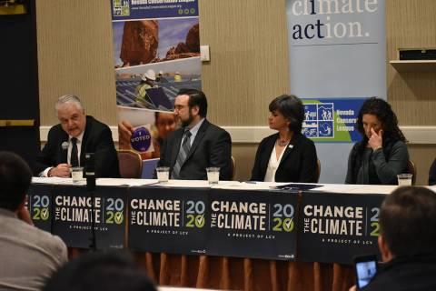 Nevada Conservation League realizó una conferencia de prensa para expresar la importancia de a ...