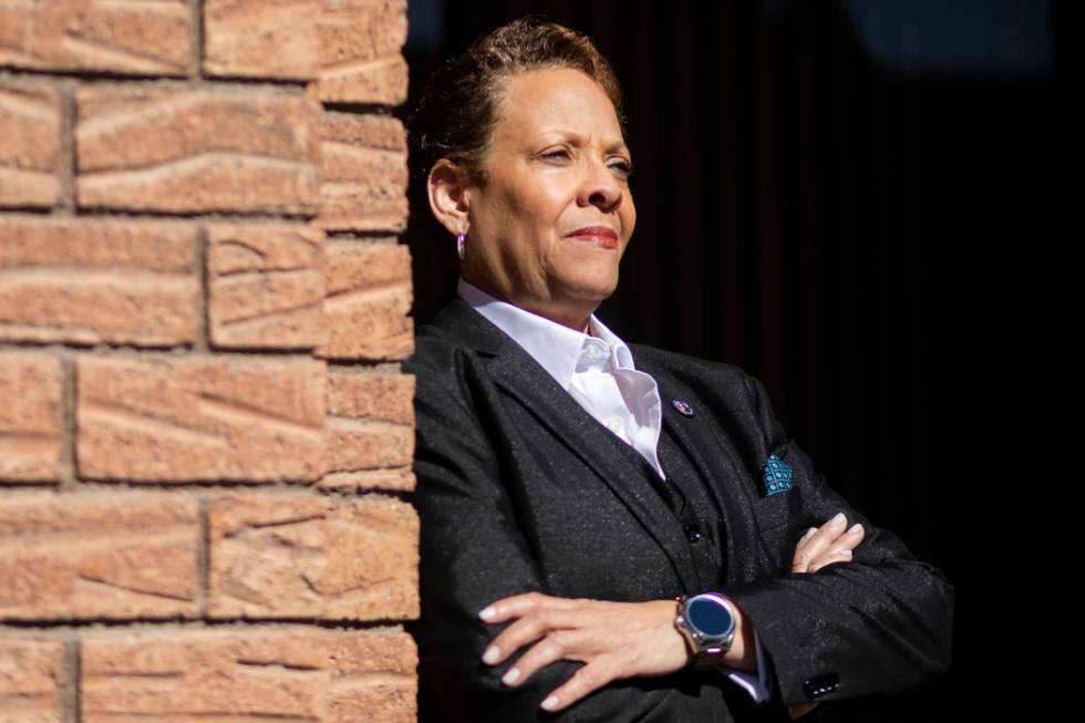 La senadora de Nevada, Pat Spearman, demócrata por North Las Vegas, presionó para que la Legi ...