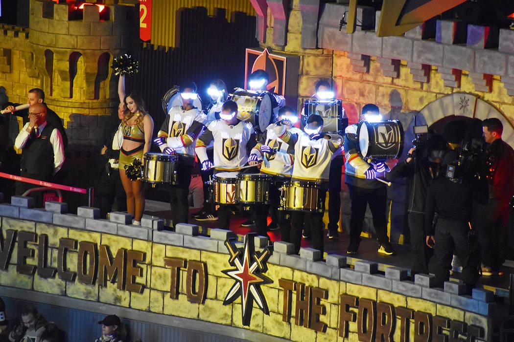 Los Golden Knights siguen ofreciendo espectáculo en cada juego como local. Jueves 20 de febrer ...