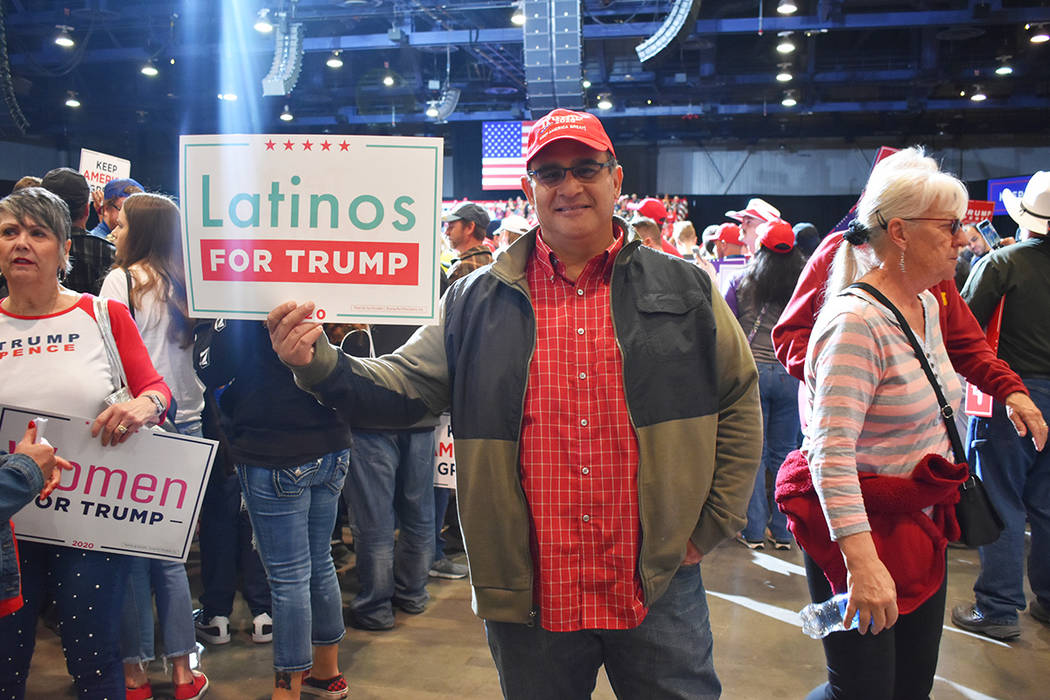Edward Miranda dijo que votará por el presidente Trump debido a que le agrada su trabajo por l ...
