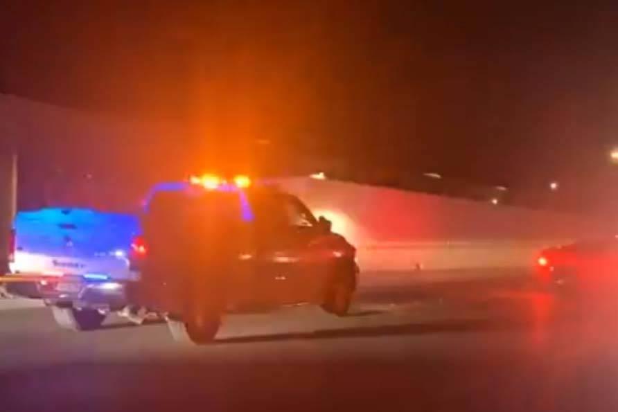 La Oficina del Alguacil del Condado Nye investiga un tiroteo en Pahrump el miércoles, 26 de fe ...