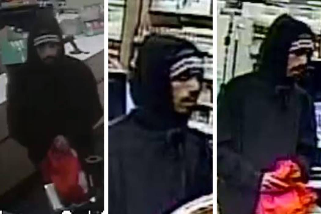 La policía busca a un hombre en relación con un robo a mano armada que ocurrió el lunes, 24 ...