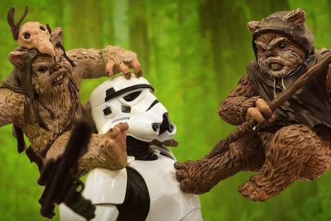 """""""Fans Strike Back"""", una exhibición de 10 mil pies cuadrados dedicada a """"Star Wars"""", está pr ..."""