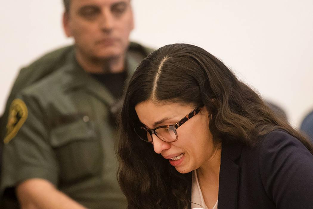 Bani Duarte, quien fue condenada por asesinato en segundo grado por causar un accidente en 2018 ...