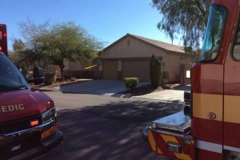Un cuerpo fue encontrado dentro de una casa después de un incendio el domingo, 24 de noviembre ...