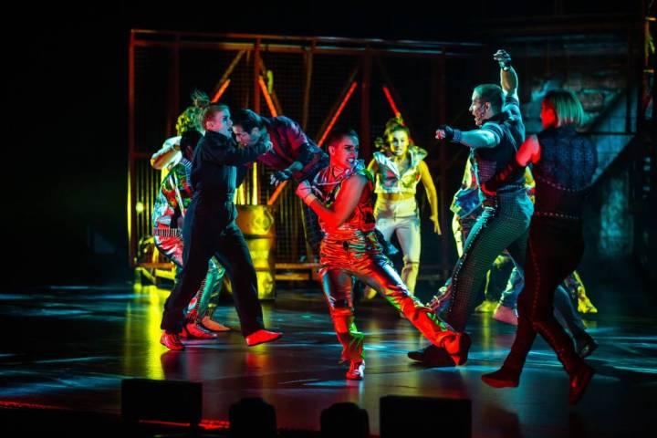 """La última producción del Strip de Las Vegas del Cirque du Soleil, """"R.U.N"""", cerrará pronto en ..."""
