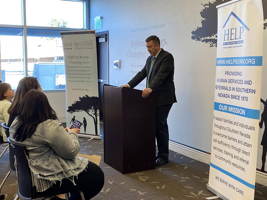 HELP of Southern Nevada, brinda asistencia a familias de bajos ingresos, adolescentes sin hogar ...