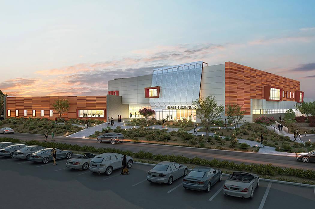Las nuevas instalaciones de la facultad de Salud y Ciencias, en el nuevo edificio localizado en ...