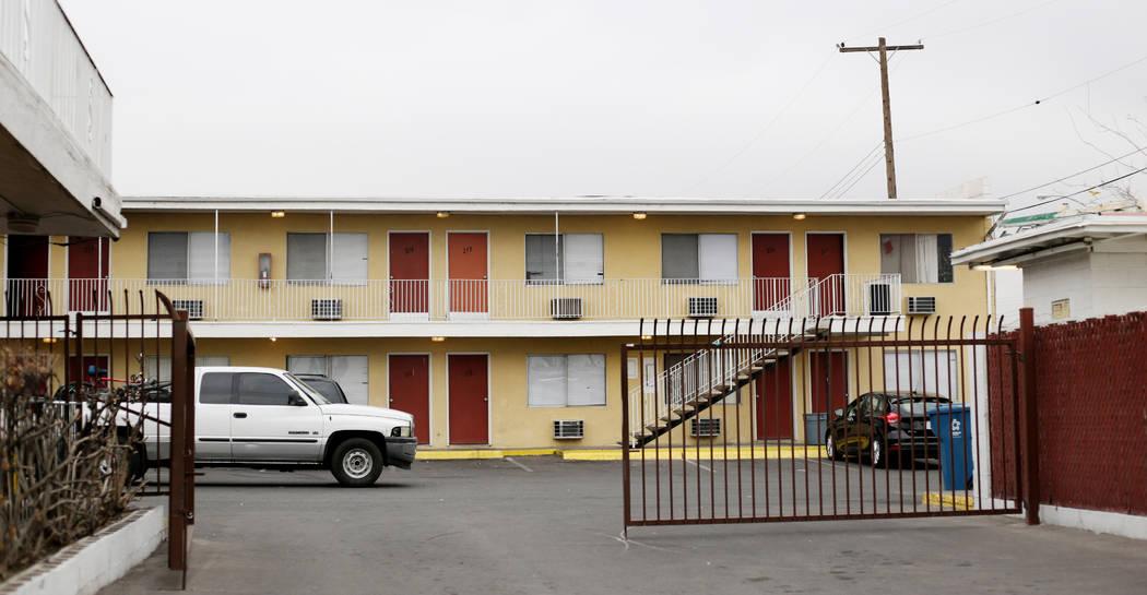 El Motel Starlite ubicado en 1873 N. Las Vegas Blvd. en North Las Vegas se muestra el lunes, 23 ...