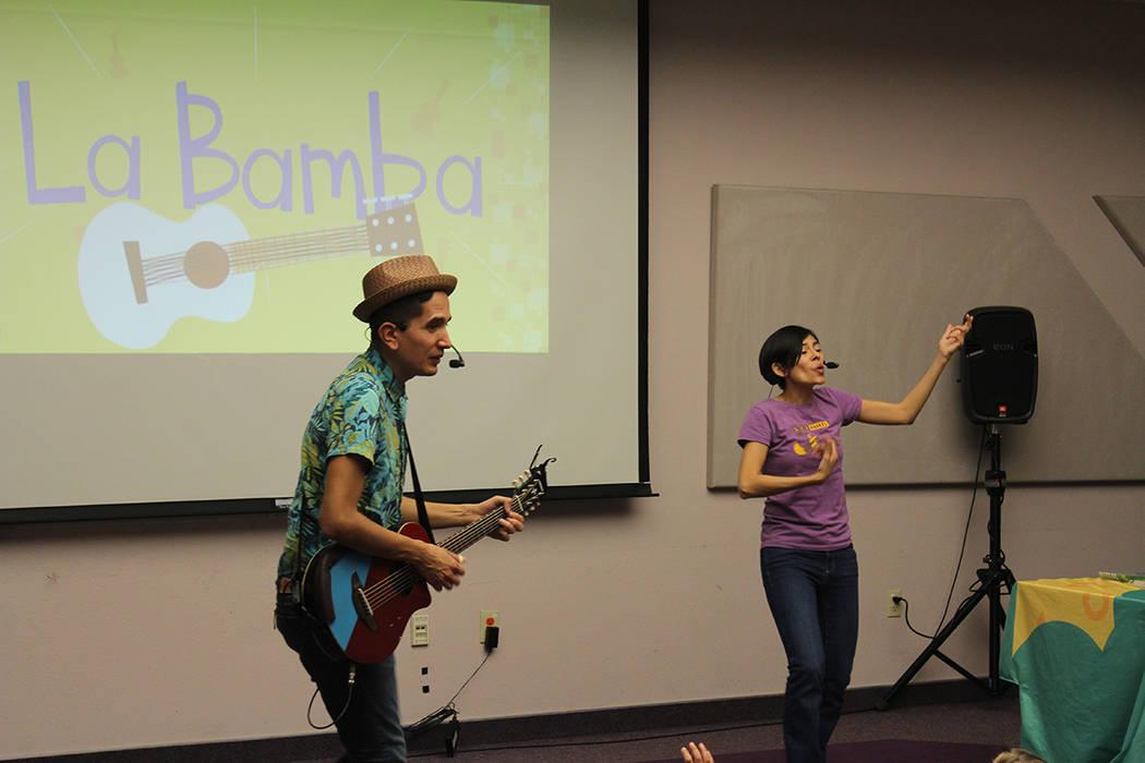 Salsa, bachata y cumbia son ritmos para las canciones infantiles de Andrés. Martes 25 de febre ...
