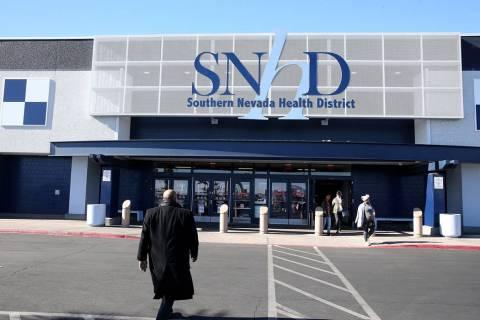 El Distrito de Salud del Sur de Nevada en 280 S. Decatur Blvd. en Las Vegas. K.M. Cannon Las Ve ...