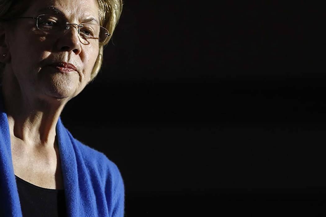 La ex candidata presidencial demócrata, la senadora Elizabeth Warren, demócrata por Massachus ...