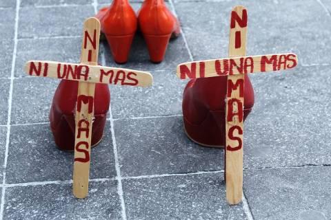 Ciudad de México, 9 Mar 2020 (Notimex-Alejandro Guzmán).- Mujeres del Frente Francisco Villa, ...