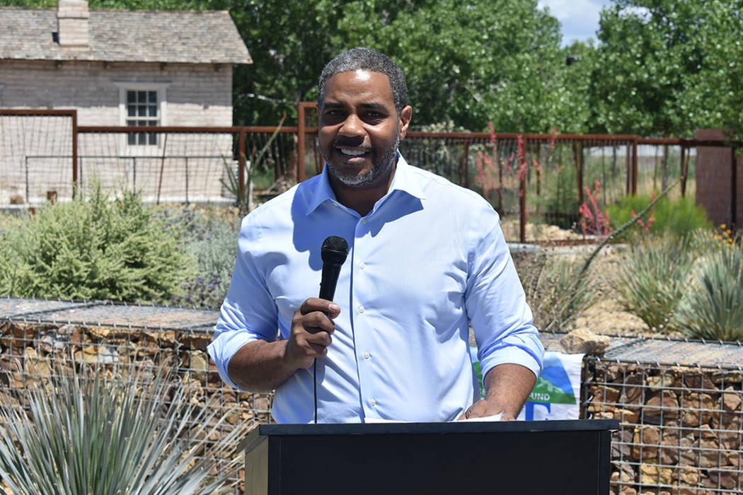 Congresista Steven Horsford. Miércoles 29 de mayo de 2019 en Kiel Ranch Historic Park. Foto El ...