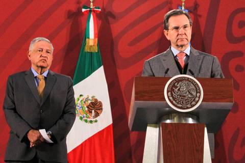 ARCHIVO. Ciudad de México, 27 Feb 2020 (Notimex- Javier Lira).- Esteban Moctezuma Barragán, s ...