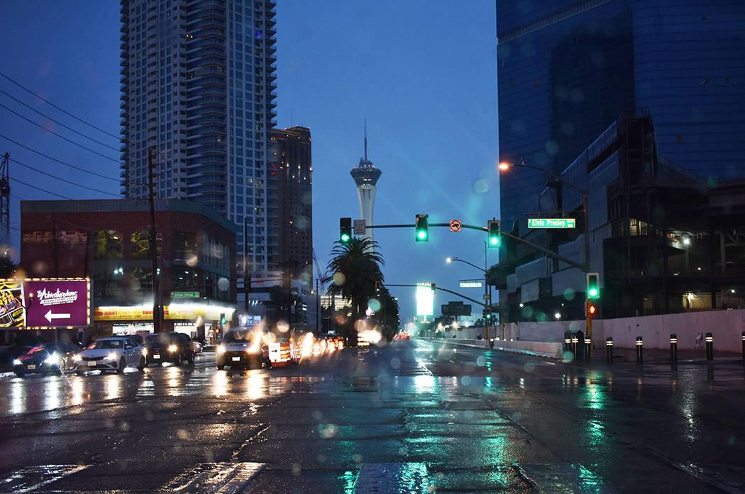 Las zonas turísticas de Las Vegas han visto una considerable baja en la afluencia de visitante ...